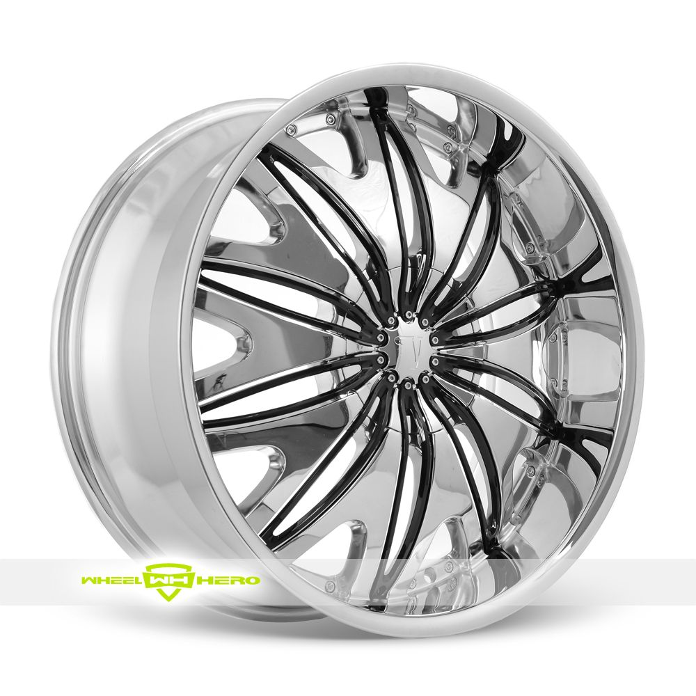 Velocity VW800 Chrome Wheels For Sale- For more info: http://www ...
