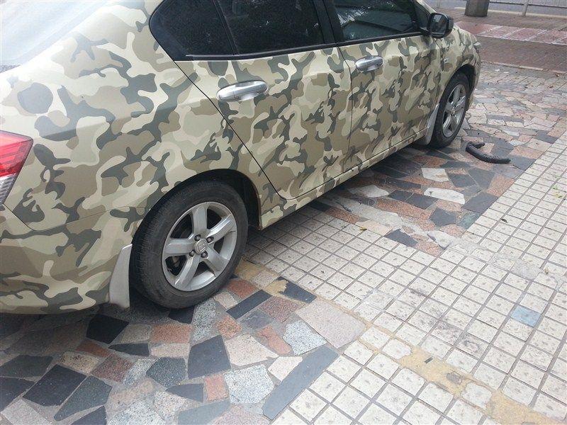 Camo wrap vinyl Matte camo car body sticker Camoflage