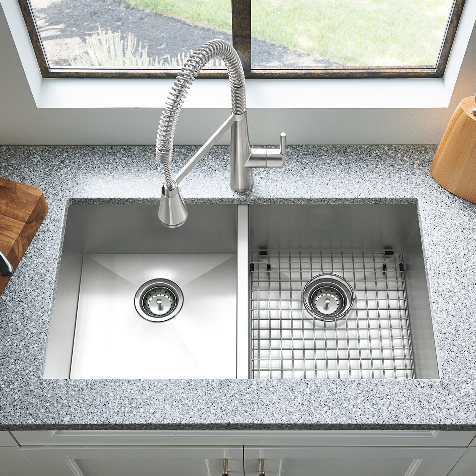 Stainless Steel Kitchen Sinks For Durable Renovation Double