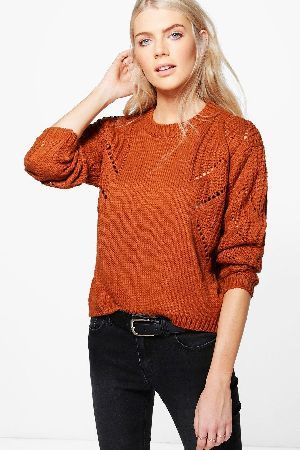 f92f947894 boohoo Cable Sleeve Jumper - camel DZZ59435 Libby Cable Sleeve Jumper -  camel http