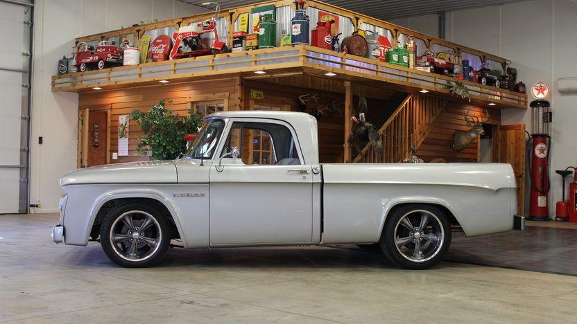 1962 dodge d100 sweptline resto mod pickup 360 ci vintage. Black Bedroom Furniture Sets. Home Design Ideas