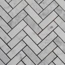 Carrara Herringbone Mosaics http://www.surfacegallery.com.au/tiles/mosaic-tiles/marble-mosaics #carraraherringbonemosaics #bathroommosaics #carraramosaics