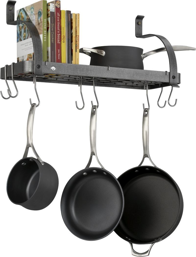 Cut Out The Kitchen Clutter And Clatter Check These 10 Mounted Pot Racks For At A Glance Organization With Top Chef Style