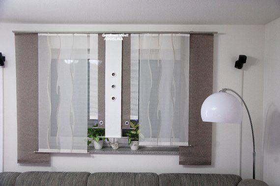 Moderne Schiebegardinen Hallo Es Ist Neu Selbst Genahte Gardinen Breite 160 185 Mhohe 160kann Man Gardinen Wohnzimmer Modern Gardinen Modern Vorhange Modern