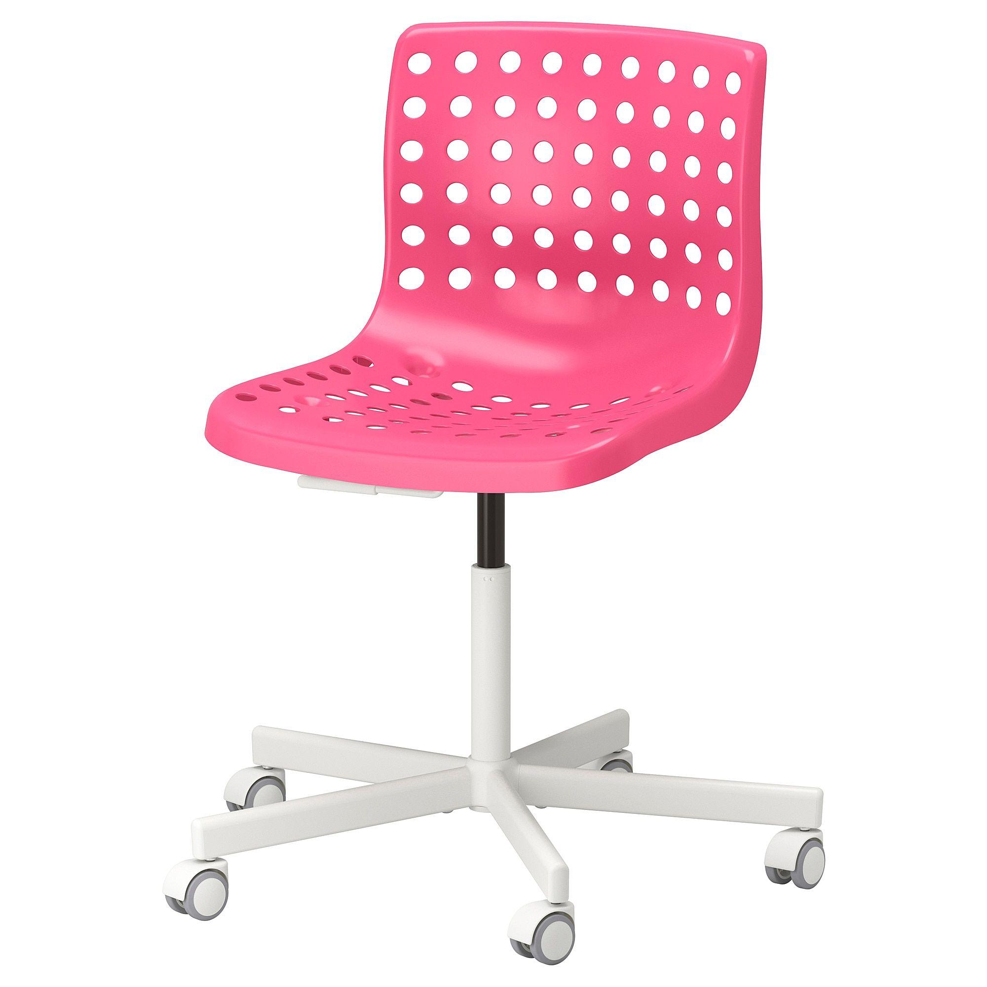 Skalberg Sporren Swivel Chair Pink White Ikea Swivel Chair Ikea White Swivel Chairs