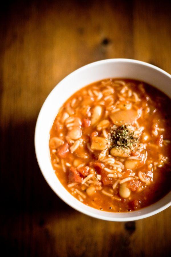 Italian Bean and Tomato Soup Recipe
