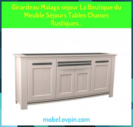Girardeau Malaga Sejour La Boutique Du Meuble Sejours Tables Chaises Rustiques In 2020 Malaga Table Chaise