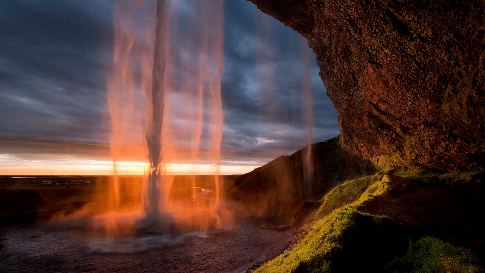 Windows 10 Lock Screen Dump Seljalandsfoss Waterfall Waterfall Iceland Waterfalls
