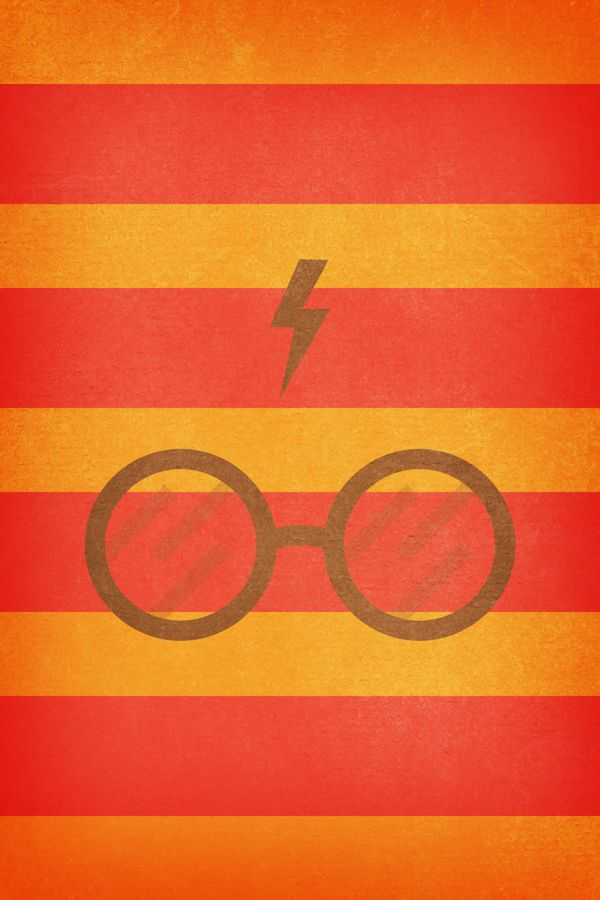 Harry Potter Sfondo Iphone 4 Iphone 4s Magic Rosso Giallo