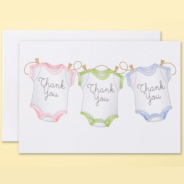 baby shower thank you cards on pinterest thank you cards