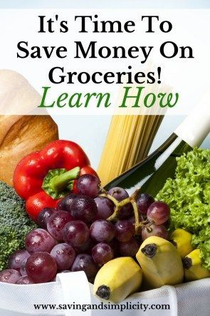 It is time to save money on groceries! Are you ready to save money at the grocery store? Yes, of course you are! Learn how!