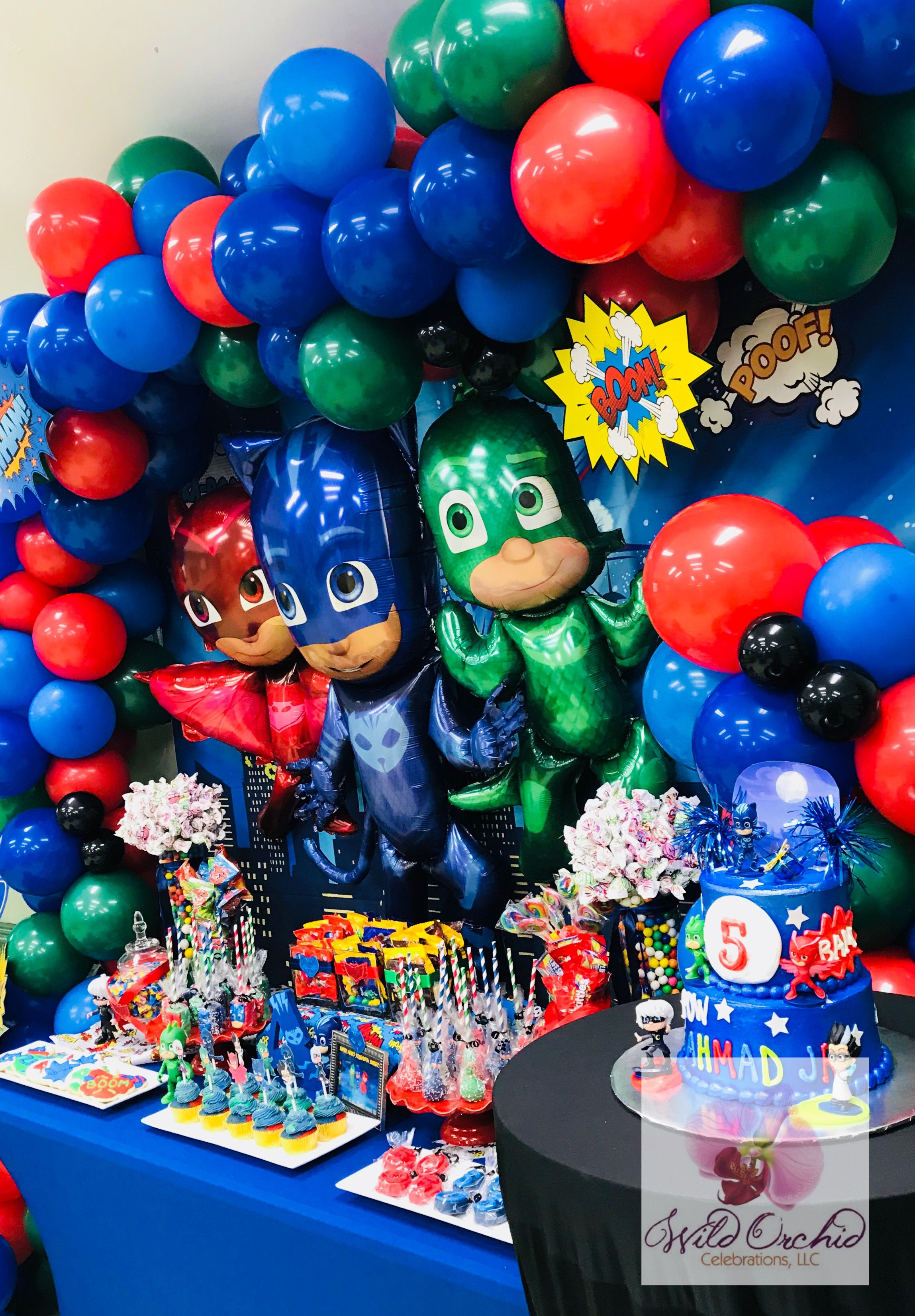 Pin on Superhero Party Ideas   PJ Masks