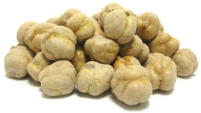 Salted, Roasted Golden Chickpeas - Snacks - Nuts.com