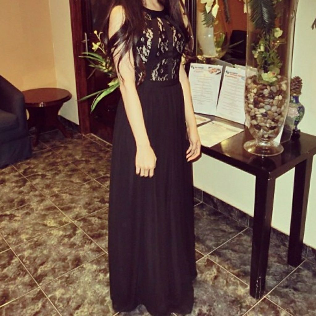Rampage black lace gown maxi dress black lace gown and products