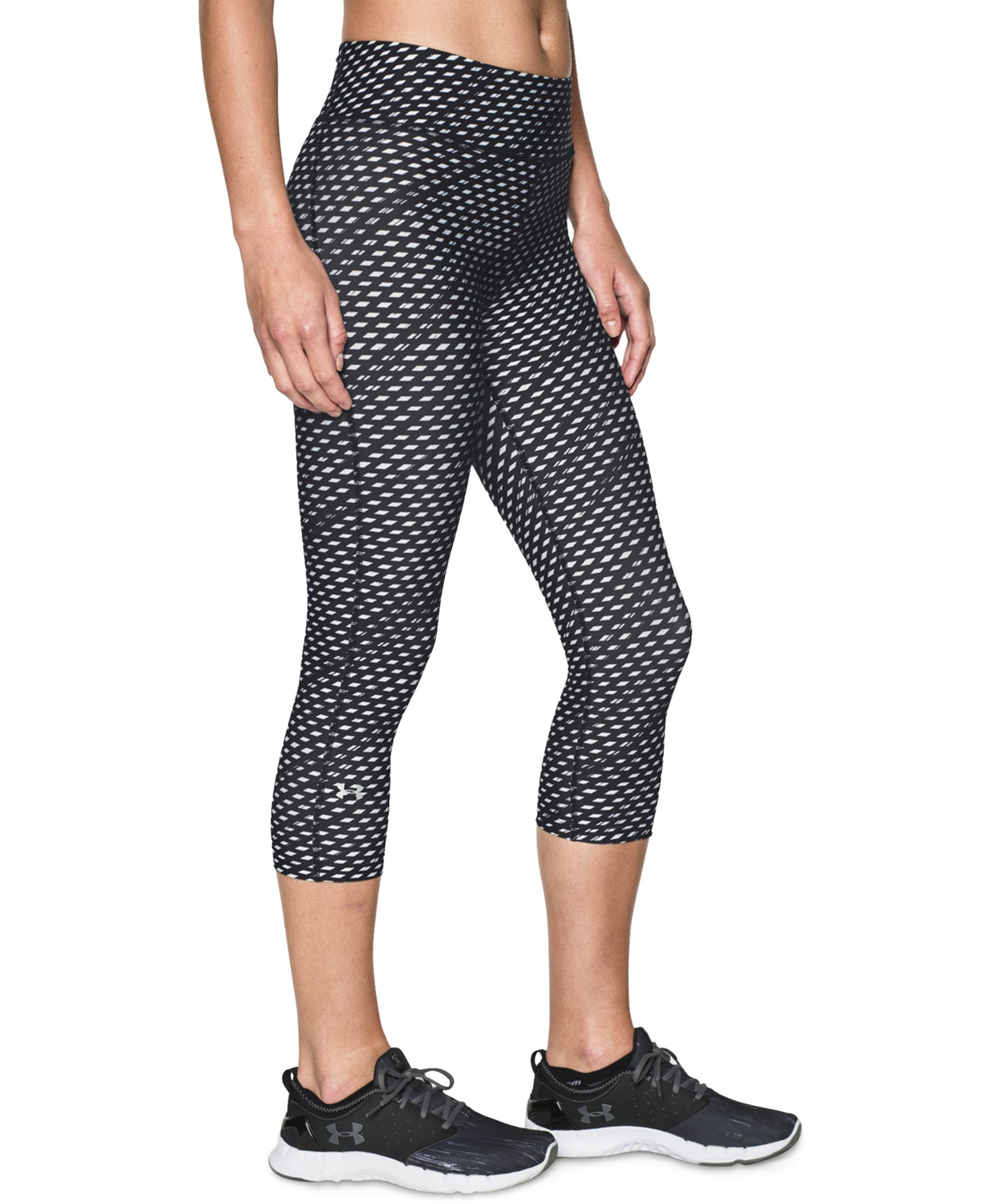 1a65640d236e2 Under Armour Alpha HeatGear Cropped Printed Leggings   Products ...