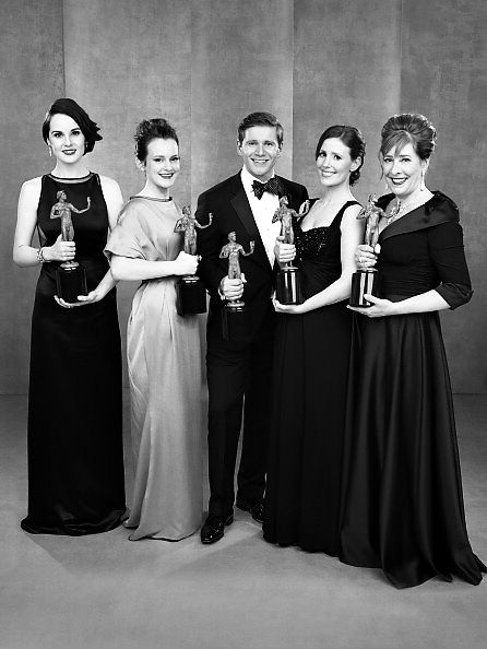 Downton Abbey - winner of Best TV Drama at the Screen Actors Guild Awards - January 27, 2013
