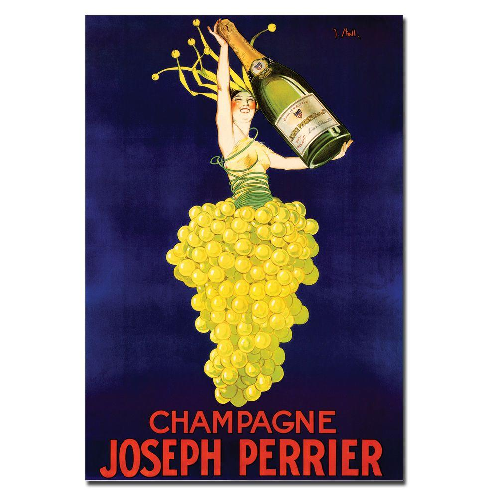 18 in. x 24 in. Champagne by Joseph Perrier Canvas Art | Champagne ...