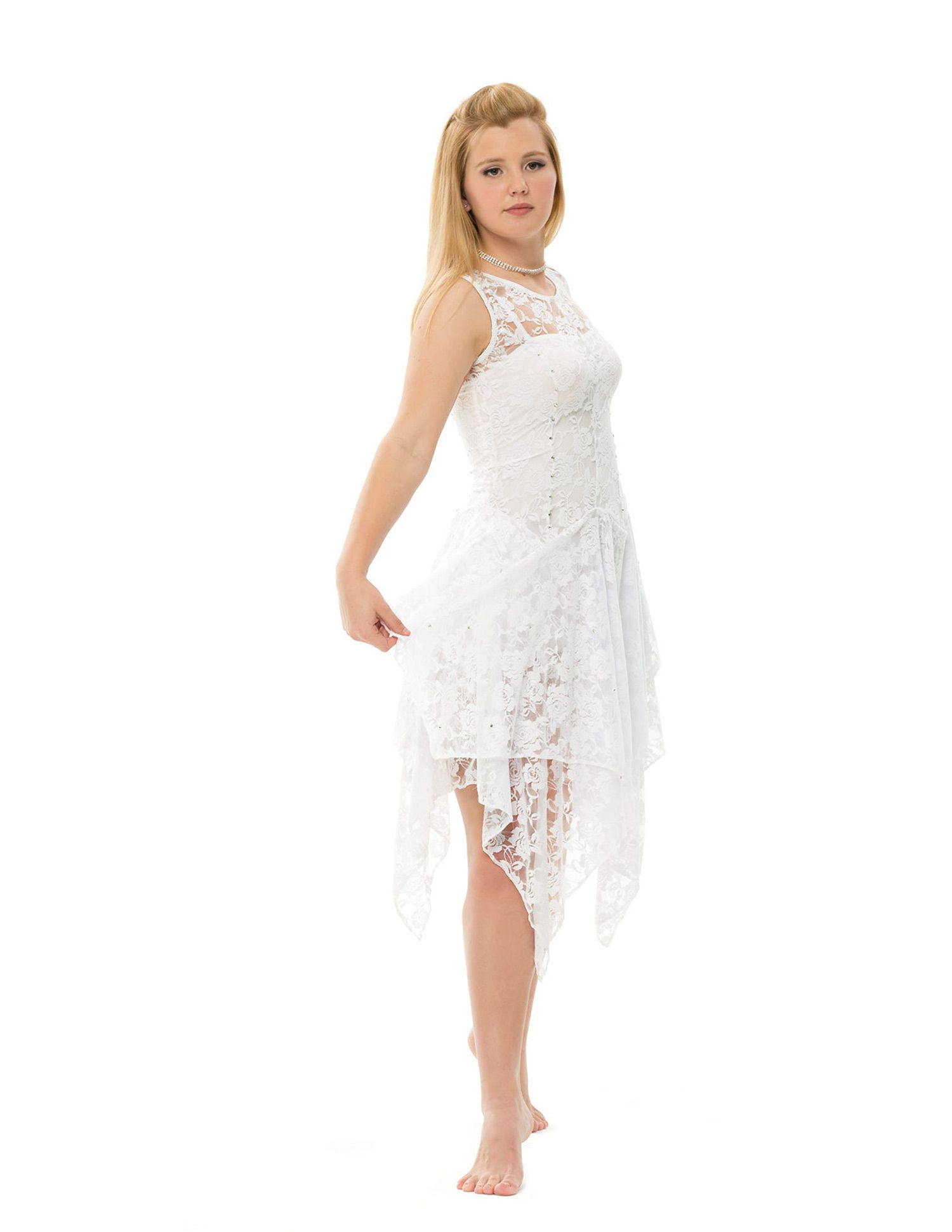 White Lyrical Dance Dresses One of my next dance costume | Dance ...
