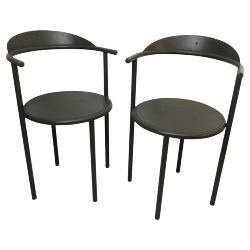paire de chaises hashwood de philippe starck pour kartell ecrin masculin pinterest. Black Bedroom Furniture Sets. Home Design Ideas