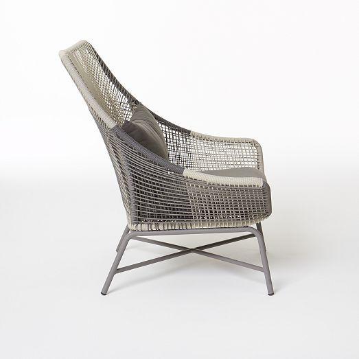 Charmant Huron Large Lounge Chair U2013 Gray/Seal | West Elm