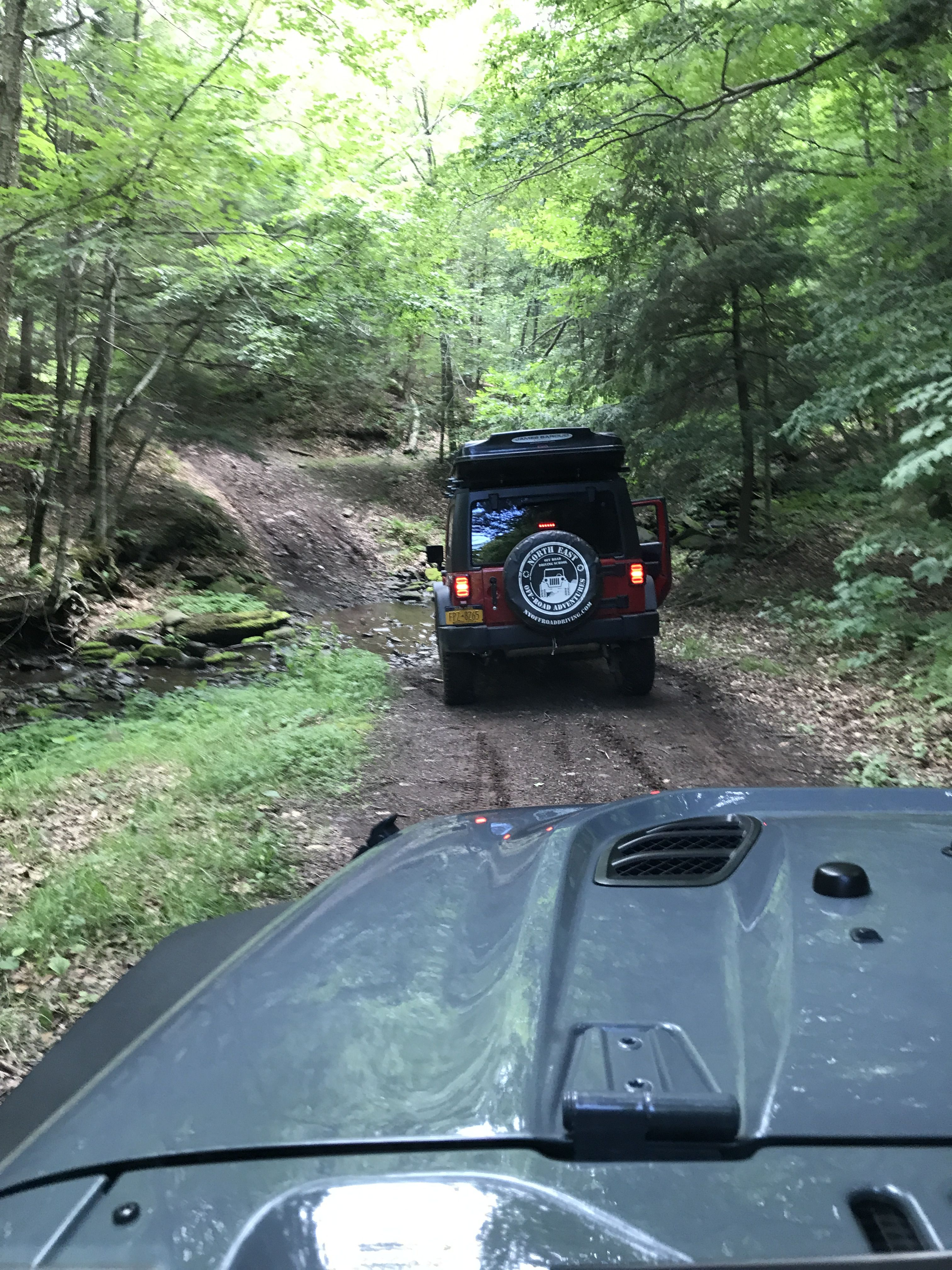 Nora Trail Ride At Hunter Mountain Driving School Jeep Wrangler
