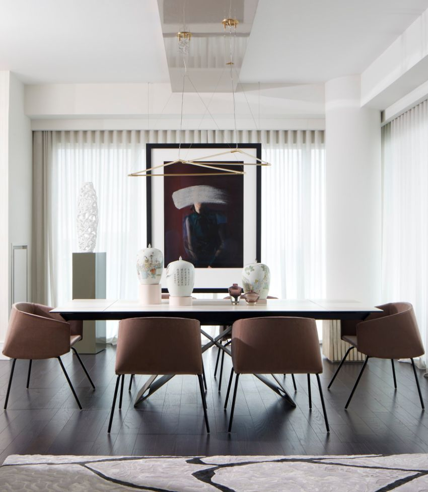 126 Custom Luxury Dining Room Interior Designs: Modern Dining Rooms Designed By Top Interior Designers In