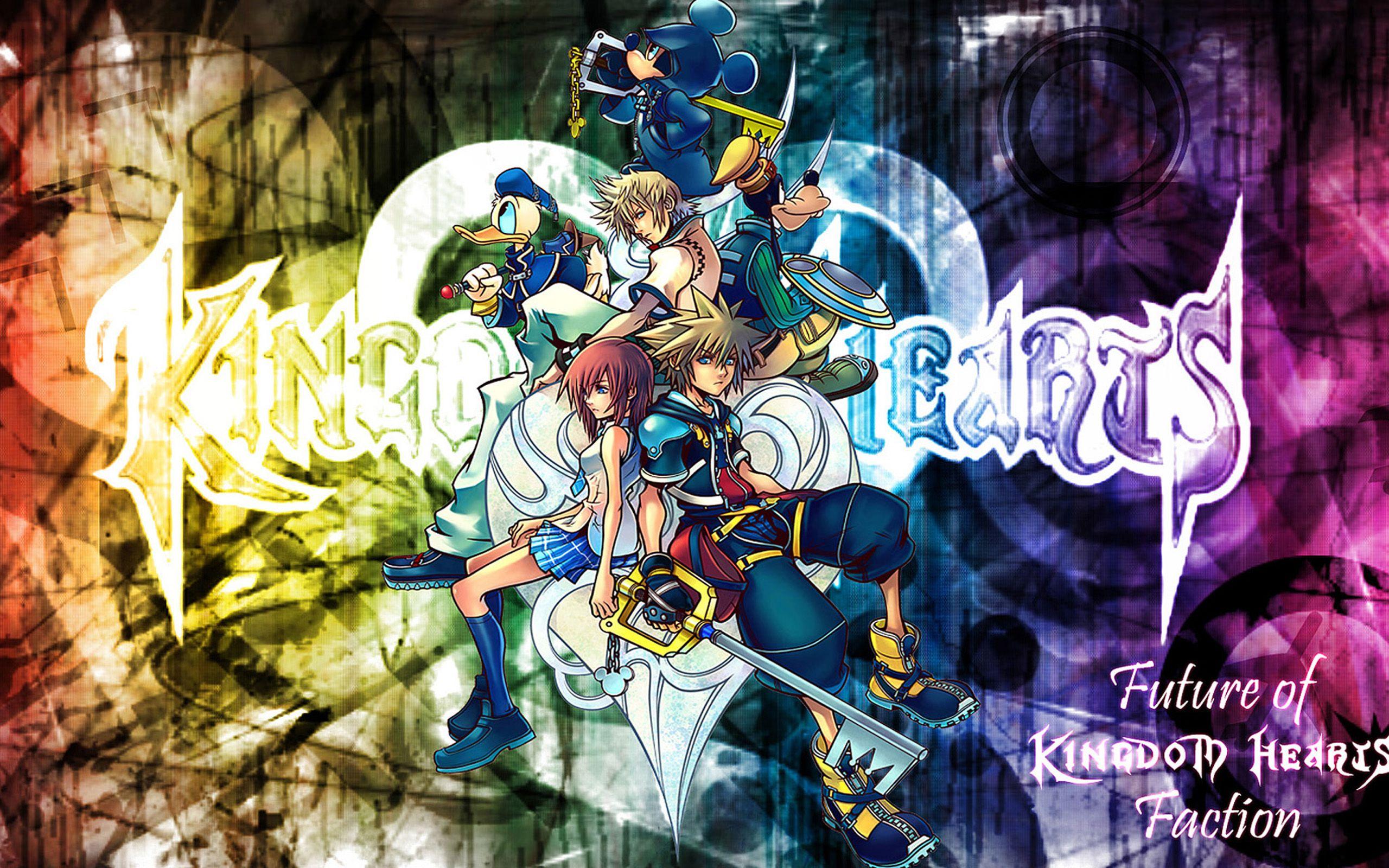 Kingdom Hearts Cool Wallpaper 2560x1600 Jpg 2560 1600 Kingdom Hearts Characters Kingdom Hearts Ii Kingdom Hearts Wallpaper