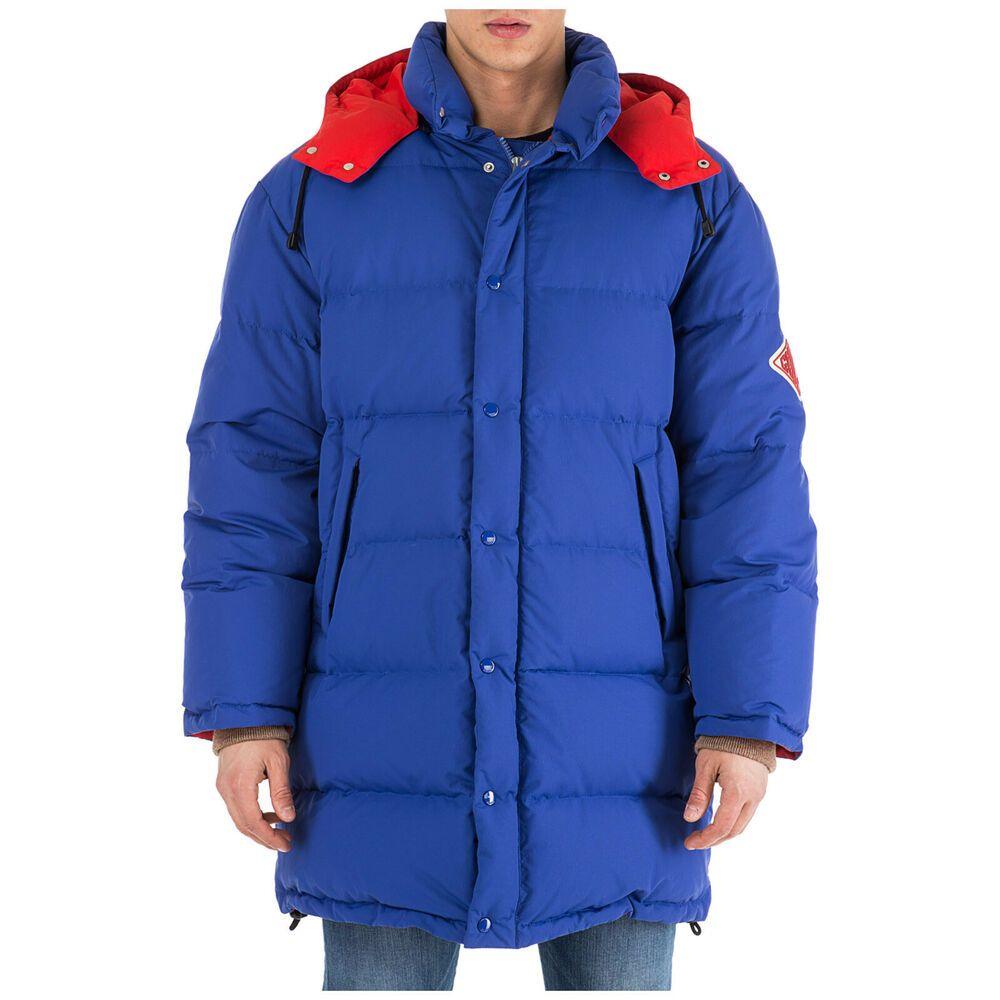 Ebay Sponsored Gucci Men S Outerwear Down Jacket Blouson Hood New Blue 9a2 Down Jacket Mens Outerwear Jacket Gucci Jacket [ 1000 x 1000 Pixel ]
