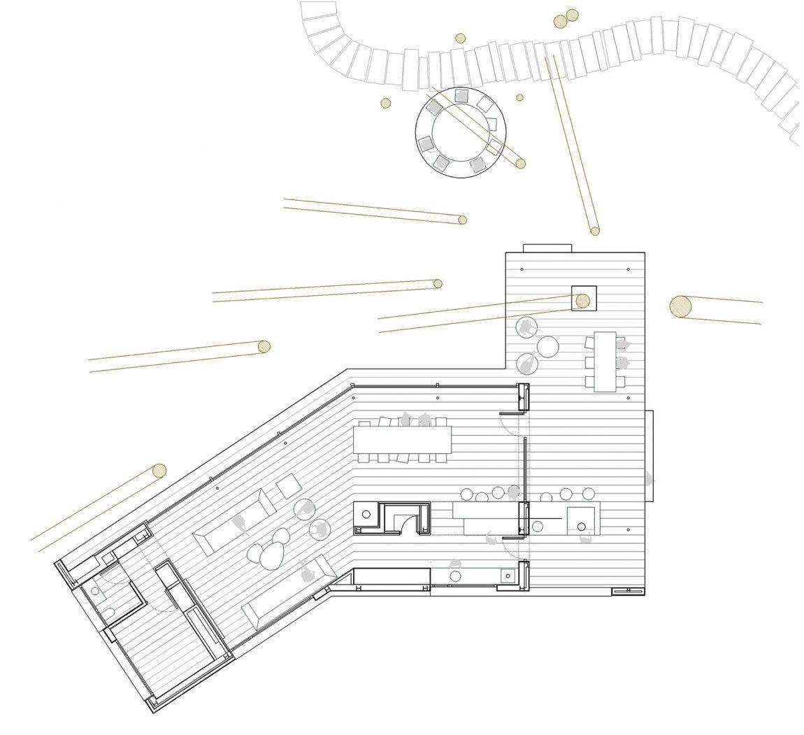 Pine Forest Pavilion By E2b Arquitectos 10