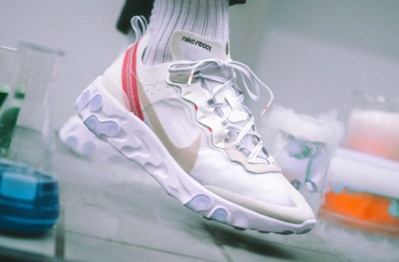 16c36dfea68 Nike React Element 87 Sail Arriving Stateside In July The Nike React  Element 87 is a