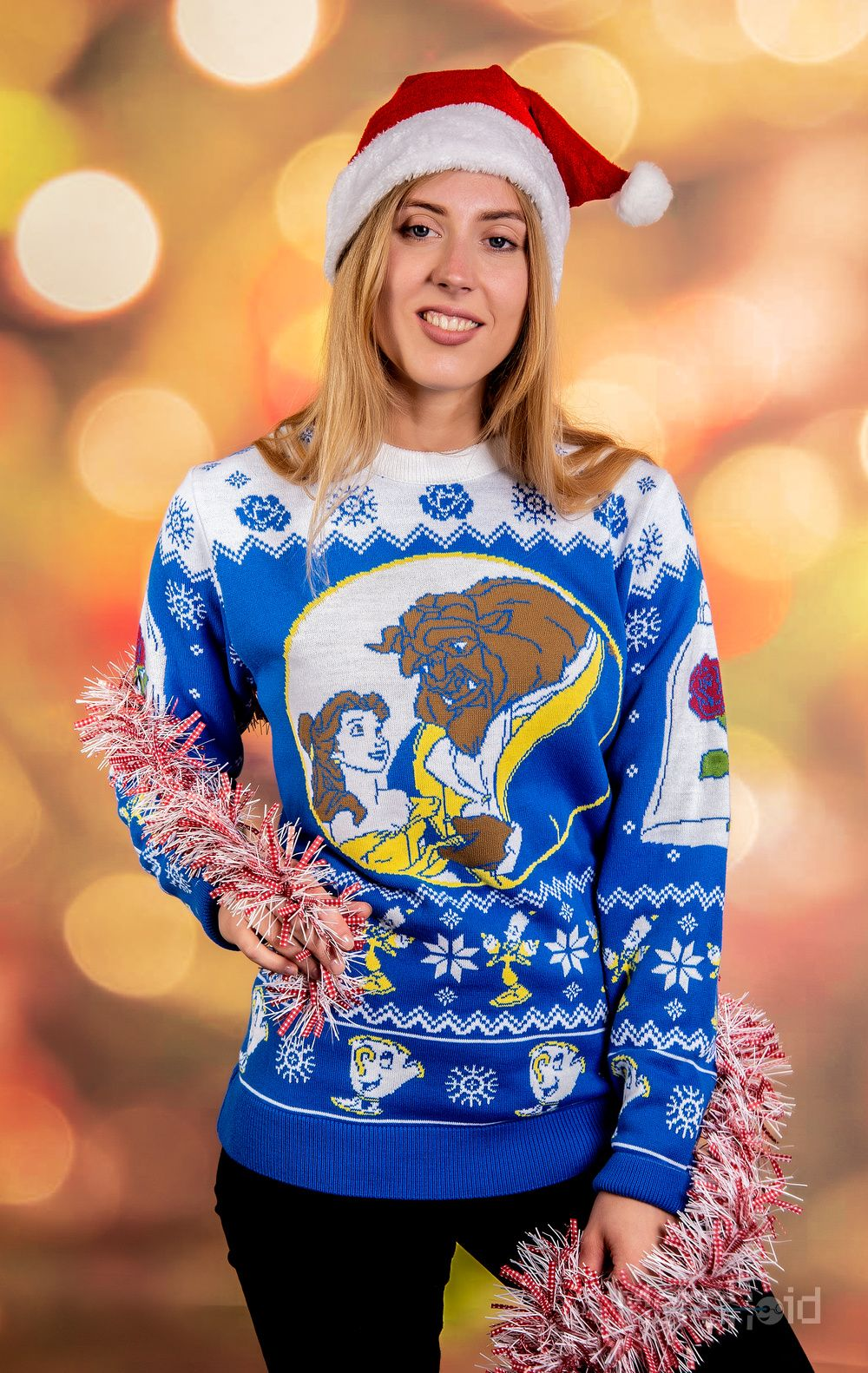 ca873b1a072c Beauty and the Beast: Merry Beastmas Knitted Christmas Sweater/Jumper  Preorder - Merchoid
