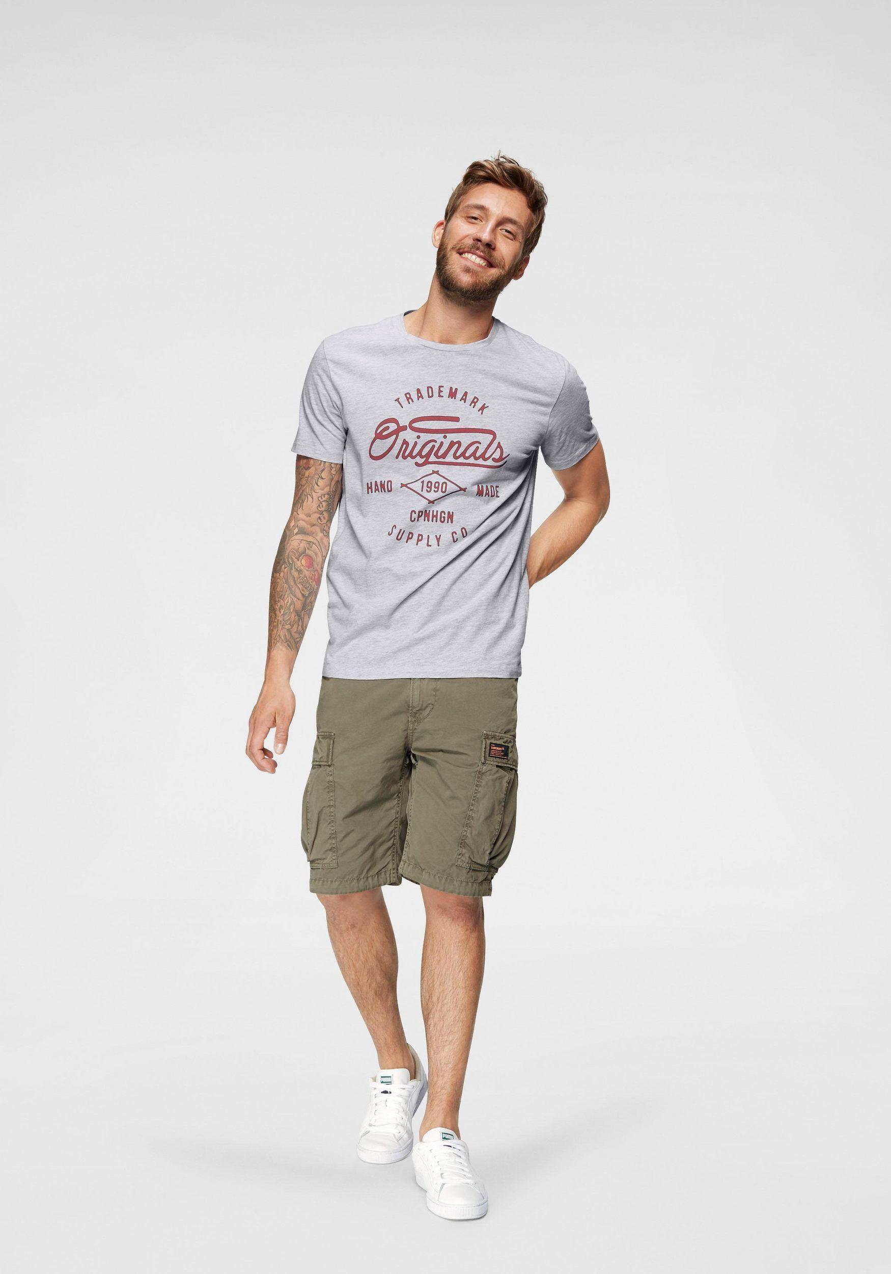 newest 52438 6b427 Jack & Jones T-Shirt »NEWSHAPE« in 2019 | MY DESIGN ON WEB ...