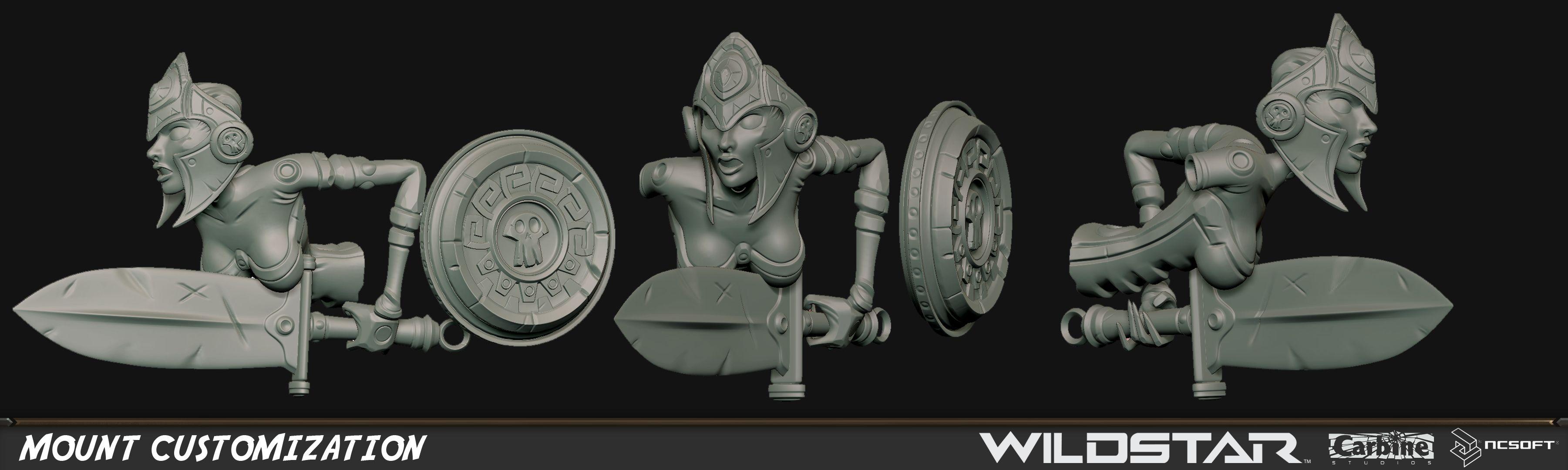Brian McClain - 3D Artist: Wildstar