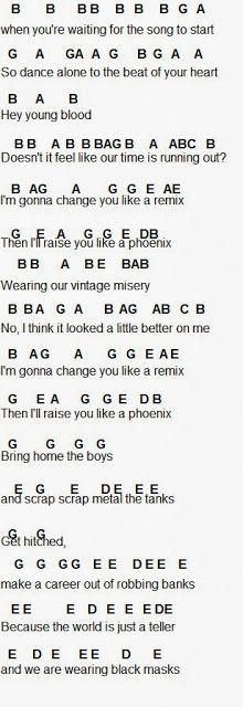 Flute Sheet Music Fall Out Boy Flutes Are Punk Lol I M