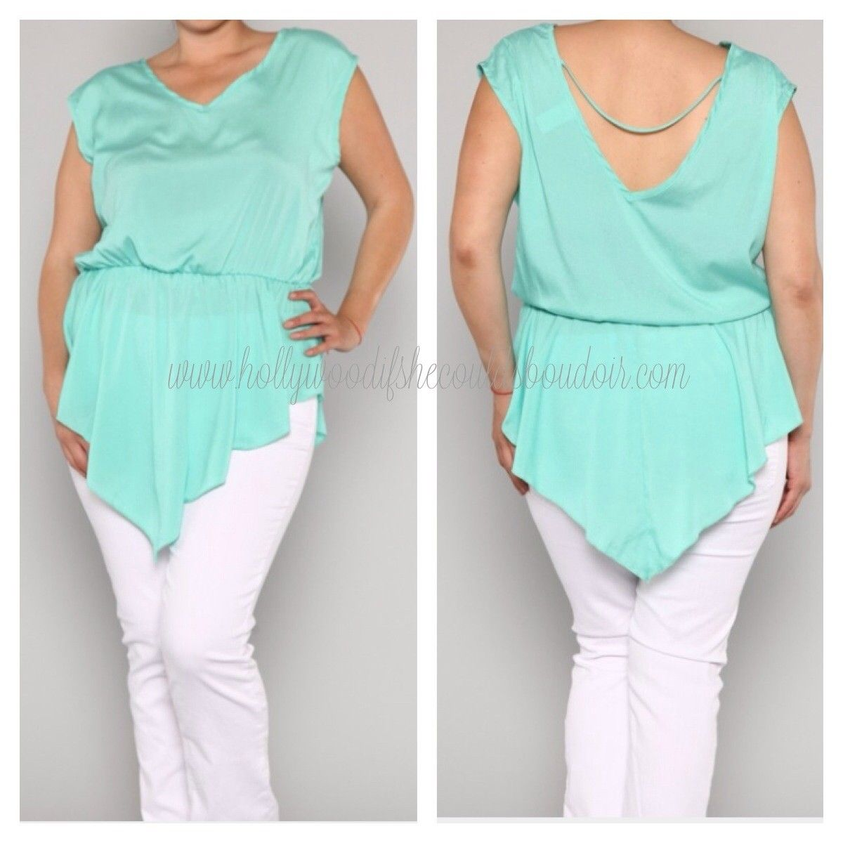 HollyWood if She Could Boudoir - She-ra Top in Mint, $25.00 (http://www.hollywoodifshecouldsboudoir.com/she-ra-top-in-mint/)
