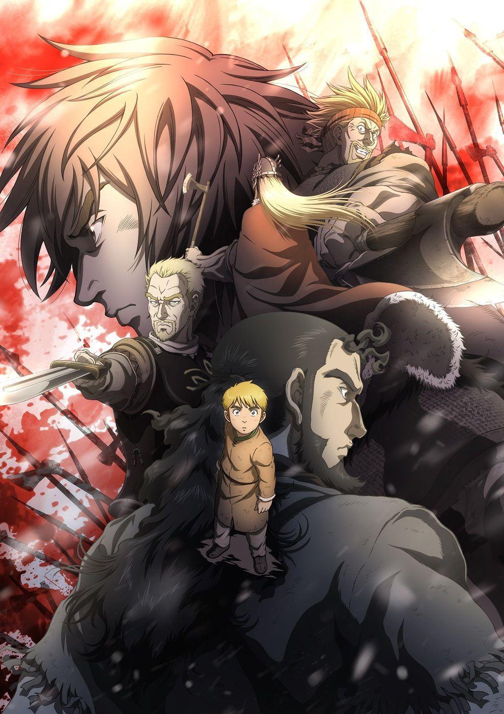 Vinland Saga Anime's Subtitled Promo Reveals More Cast, 24