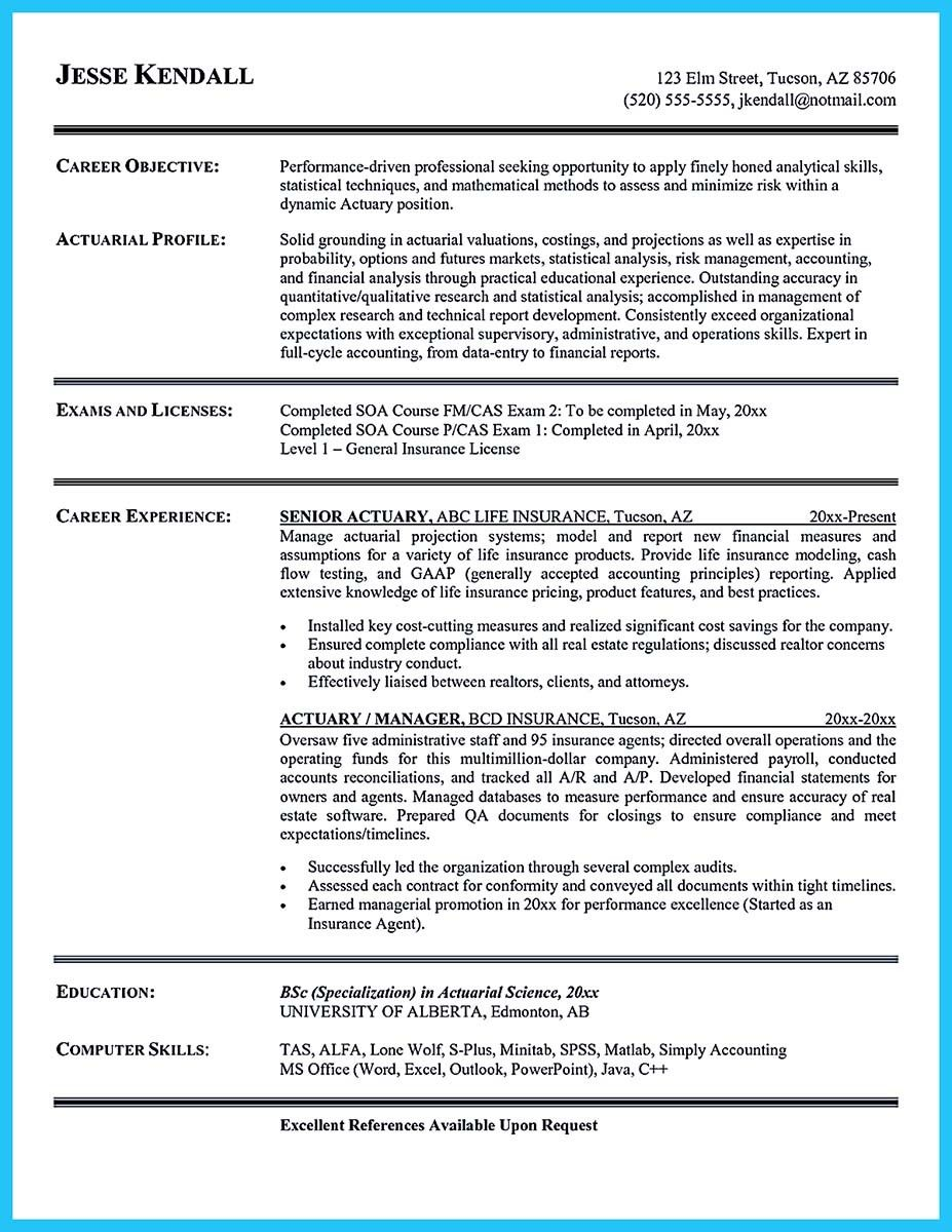 Awesome Impressive Bartender Resume Sample That Brings You To A