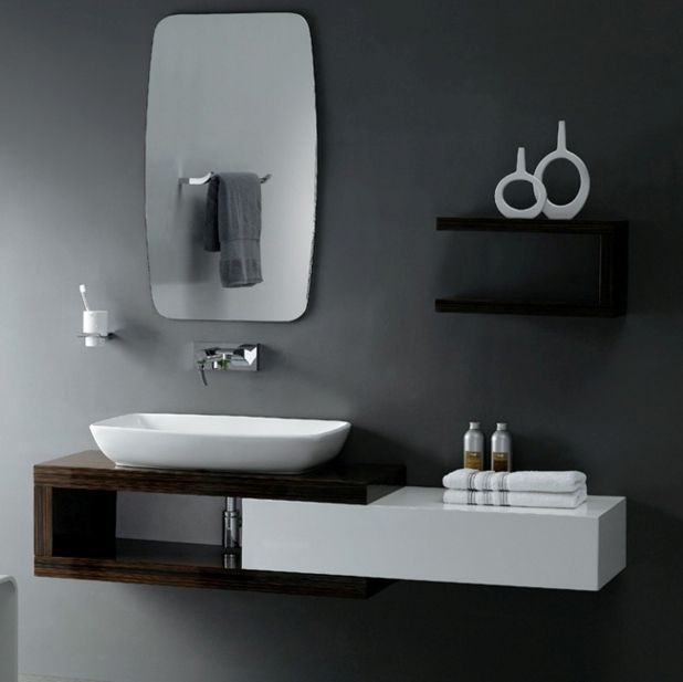 Bathroom Sink Paint Pleasant Bathroom Enchanting Modern Black Interesting Small Black Bathrooms Decorating Design