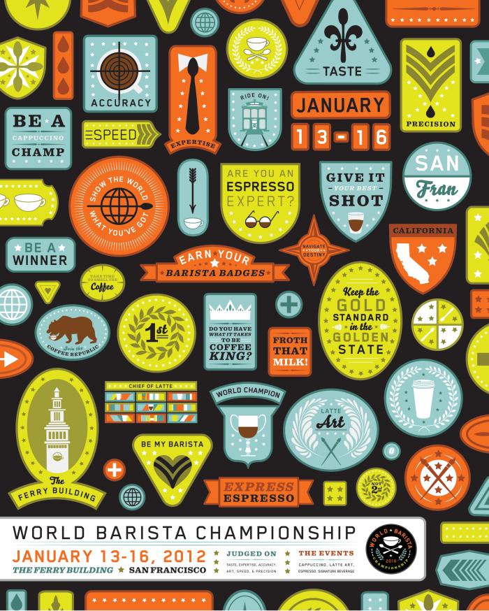 World Barista Championship poster