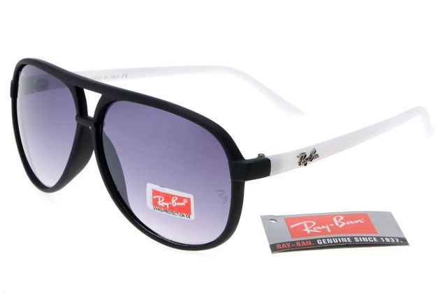 Ray-Ban Cat 8975 Black White Frame Gray Lens RB1260 [RB-1283 ...