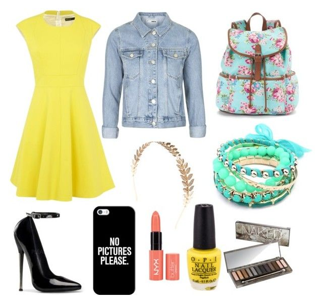 """""""Summer swing"""" by luisa-shield on Polyvore featuring Karen Millen, Topshop, Candie's, Casetify, Wet Seal, Ruby Rocks and Urban Decay"""