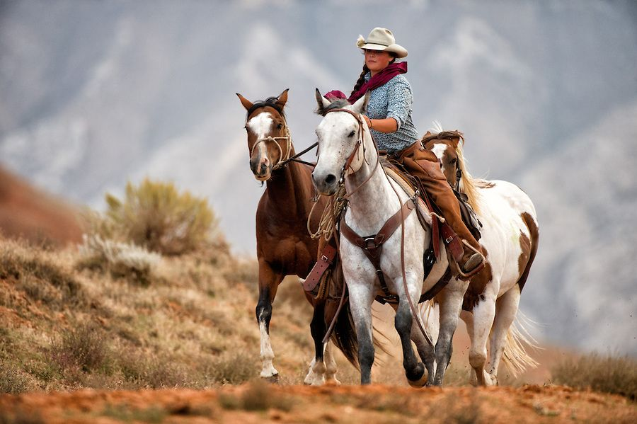 Cowgirls To live like that... (Michael Huggan Photography