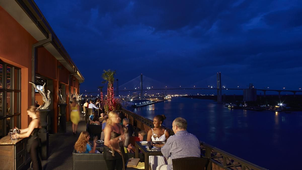 Sometimes You Need A New Perspective And A Drink A Beautiful View A Light Breeze And A Fantastic Cocktail A Savannah Chat Romantic Dates Romantic Date Ideas