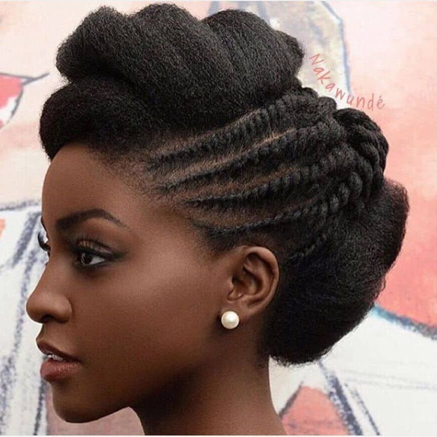 15 Protective Natural Hair Hairstyles You Ll Love Thrive Naija Natural Hair Wedding Natural Wedding Hairstyles Natural Hair Twists