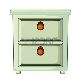 armoire dessin illustration d 39 une table avec tiroir sur. Black Bedroom Furniture Sets. Home Design Ideas