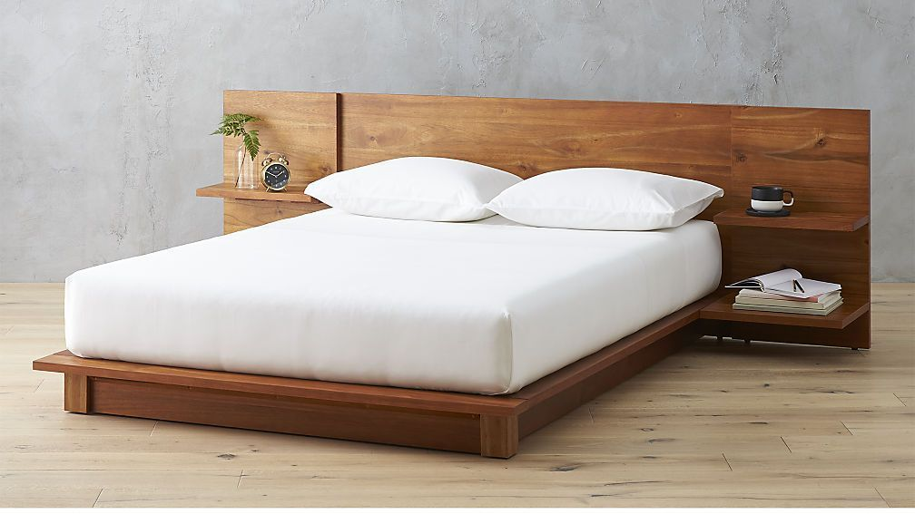 Andes Acacia Full Bed Cb2 Board Home Furniture Home Furnishings Homefurniture Homefurnitureandd Bed Furniture Design Bedroom Furniture Design Furniture