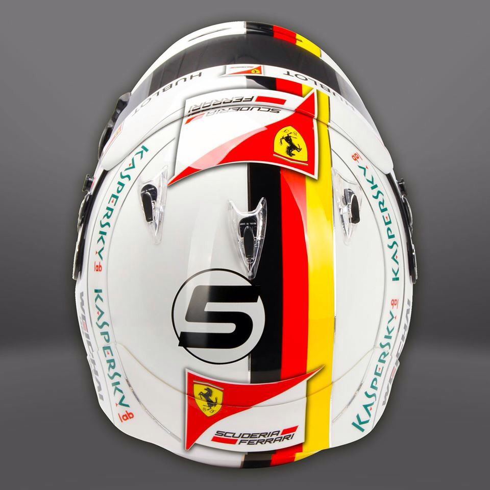 vettel helmet design 2015 f1 racing helmets helmet. Black Bedroom Furniture Sets. Home Design Ideas