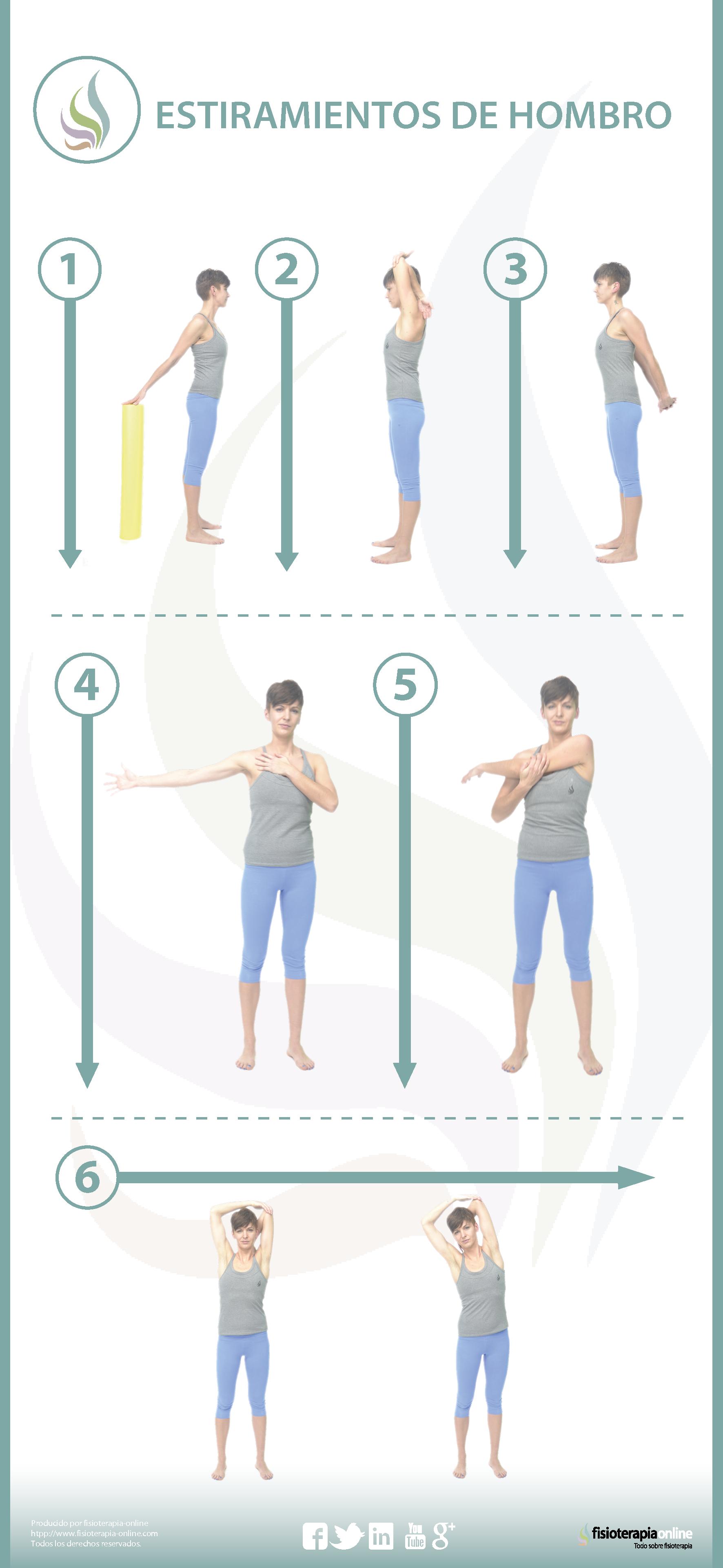 como quitar un dolor de hombro y brazo