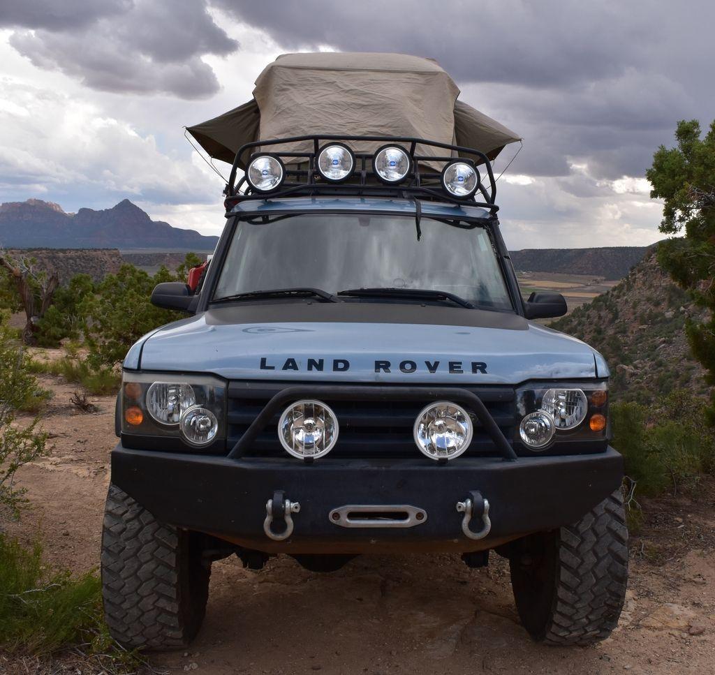 A 03 Disco II Build Expedition Portal Land rover