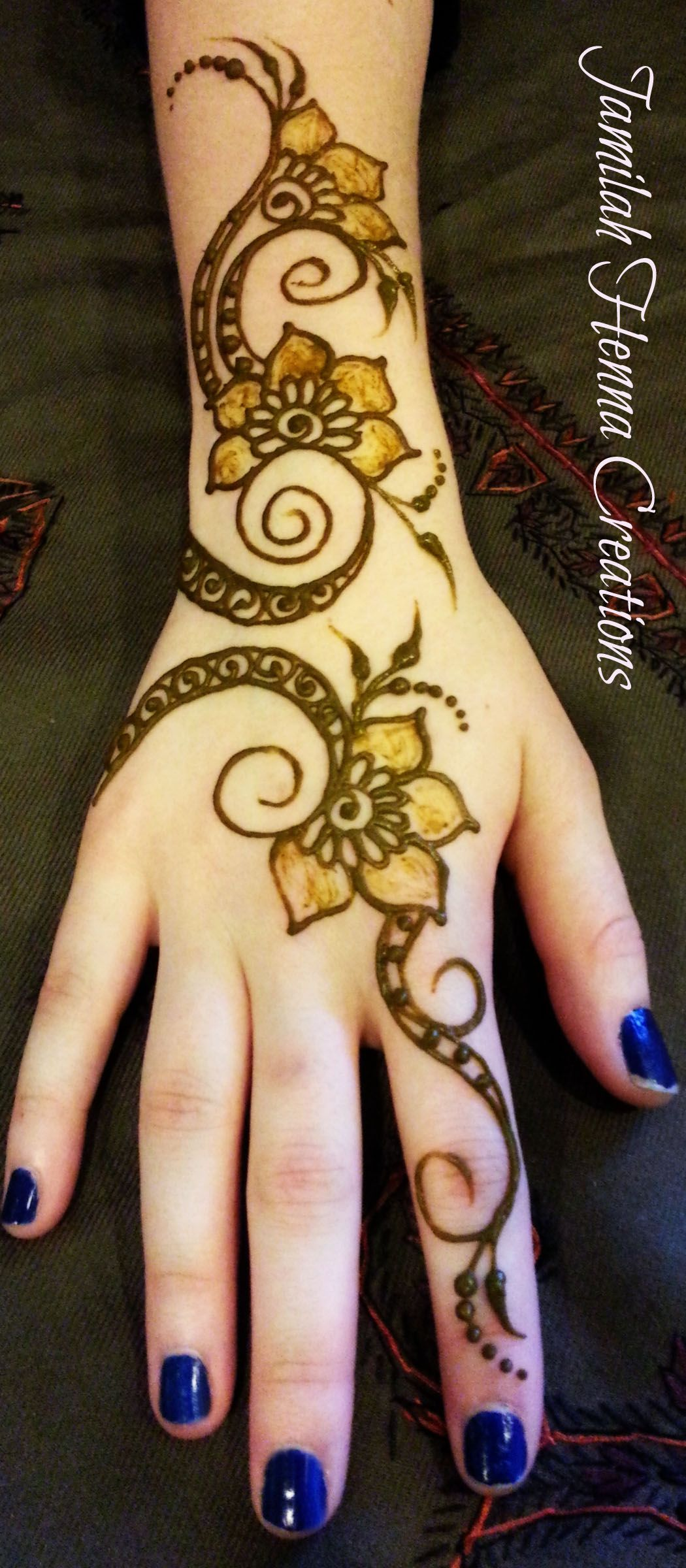 1000 Images About Henna Simple On Pinterest
